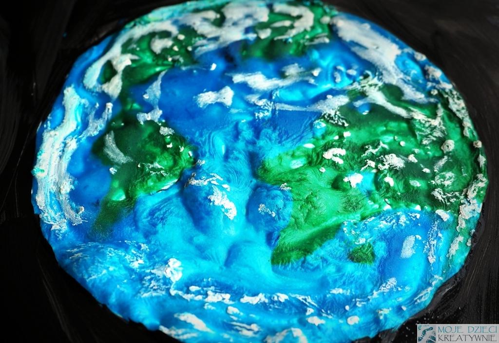 Planeta Ziemia praca plastyczna