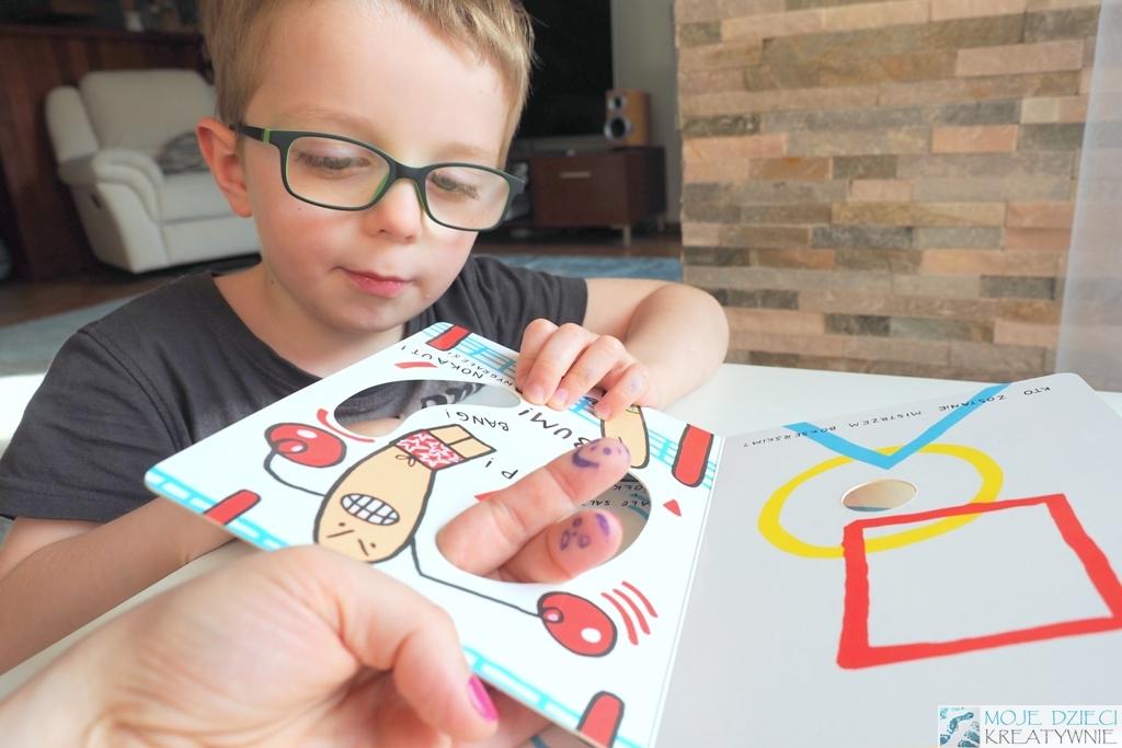zabawy paluszkowe ksiazki dla dzieci recenzje
