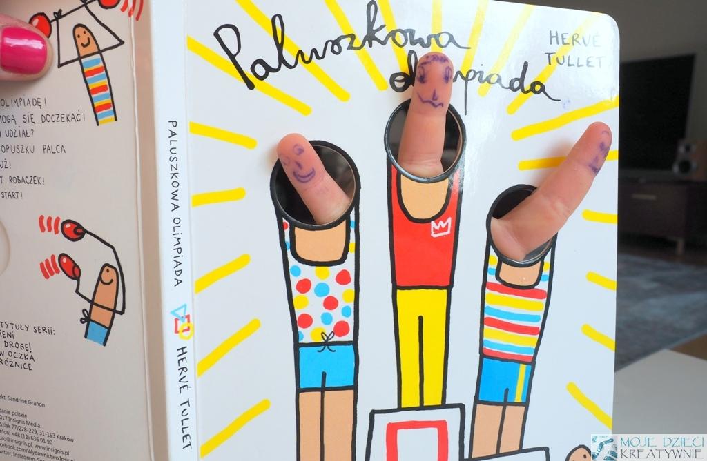 paluszkowa olimpiada ksiazki dla dzieci