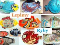 prace ceramiczne dzieci ryby glina ceramika prace plastyczne kreatywnie