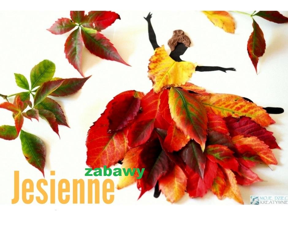 jesienne zabawy, prace plastyczne jesień, co mozna zrobic z lisci, pani jesien