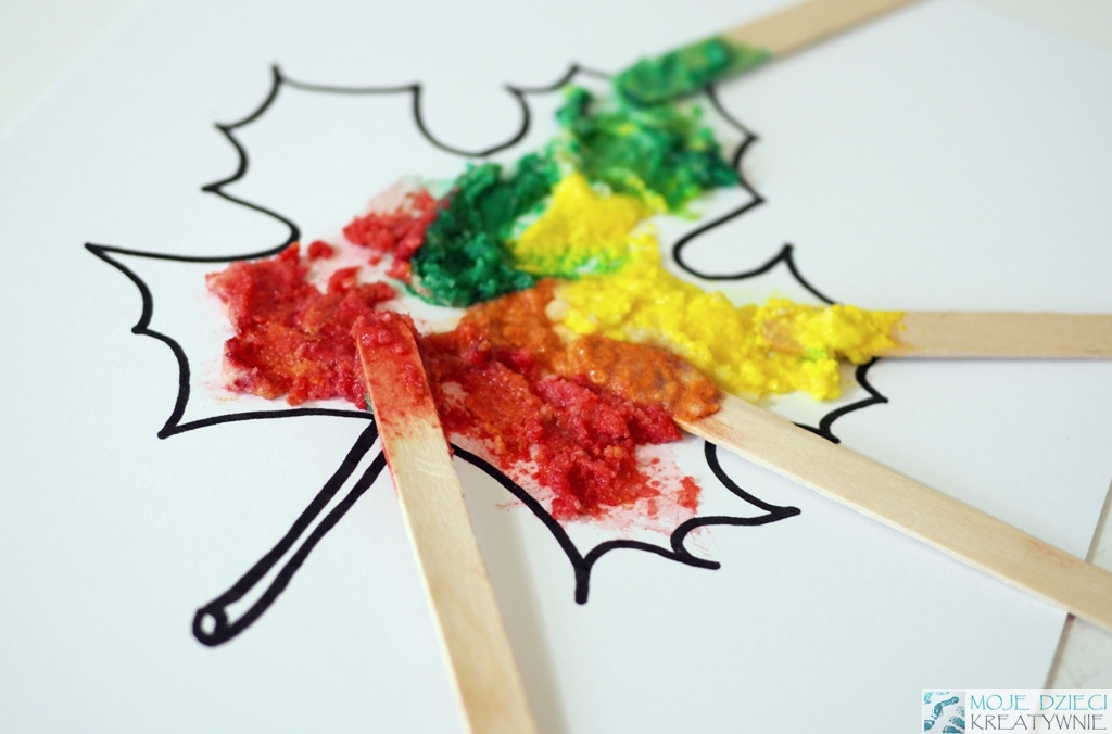 Inne rodzaje Jesienne prace plastyczne 10 inspiracji do druku - Moje Dzieci SB36