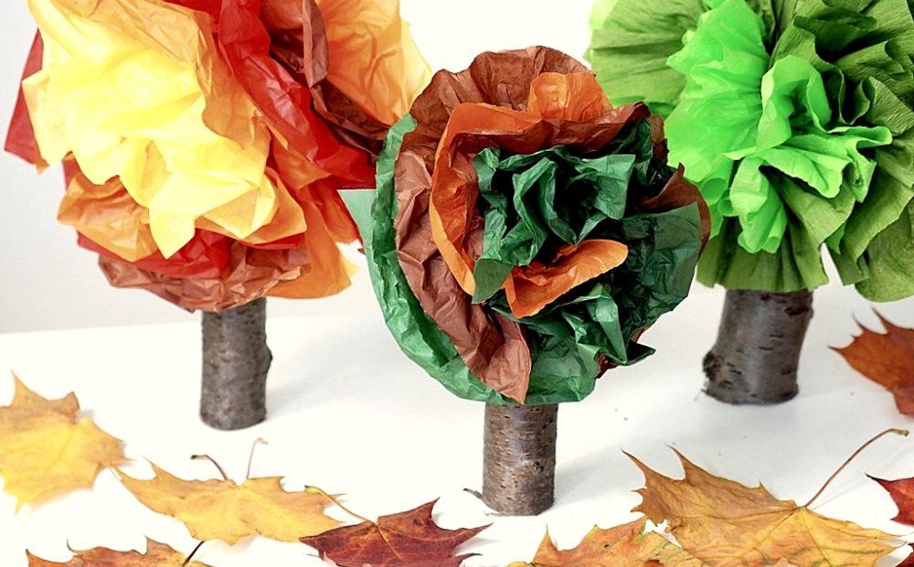 drzewko praca plastyczna
