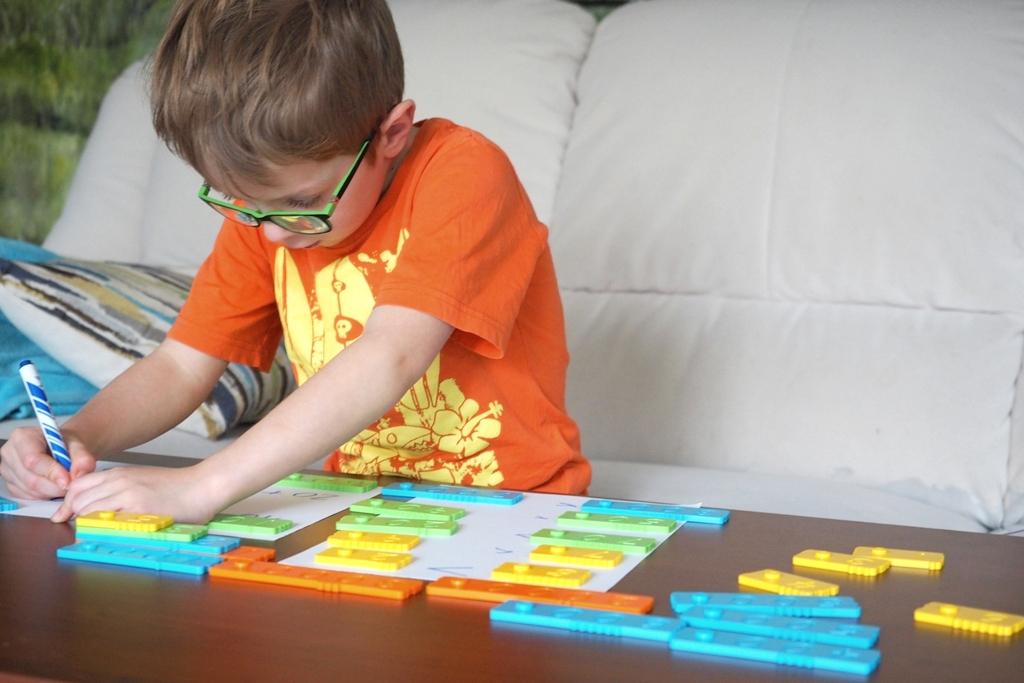 edukacja domowa klocki matematyczne edukacyjne newmero plastikowe dla dzieci nauka liczenia zabawy pomoce