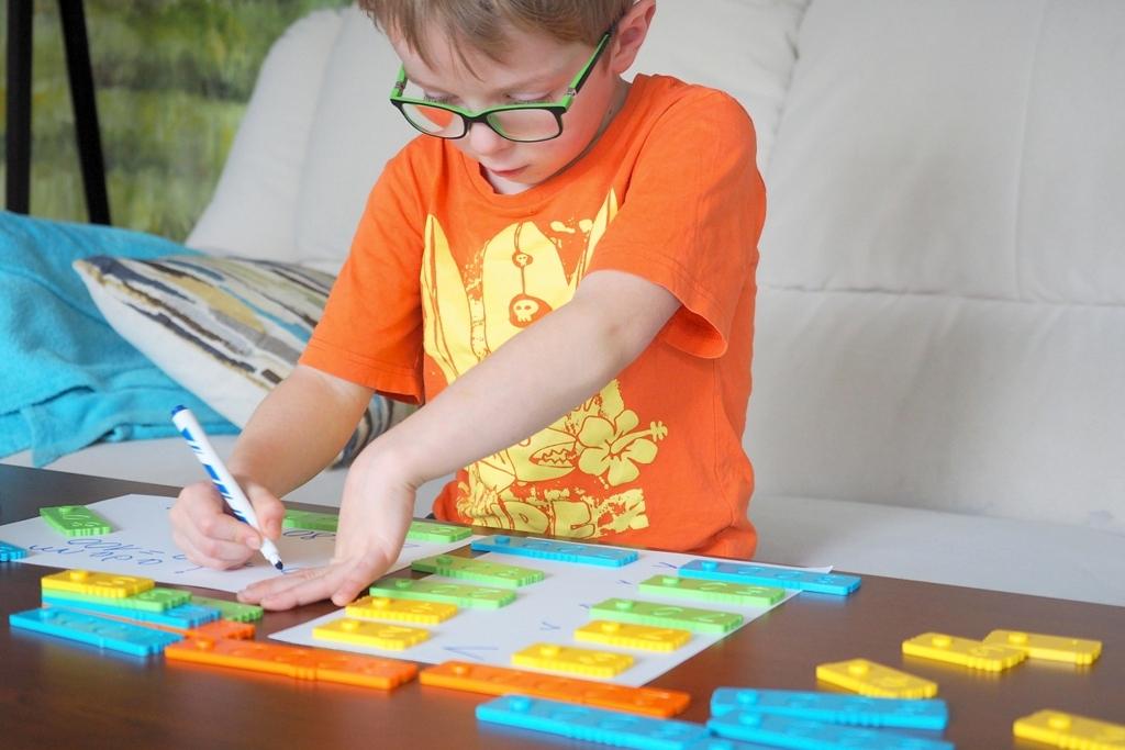 edukacja domowa klocki matematyczne edukacyjne nemwero plastikowe dla dzieci