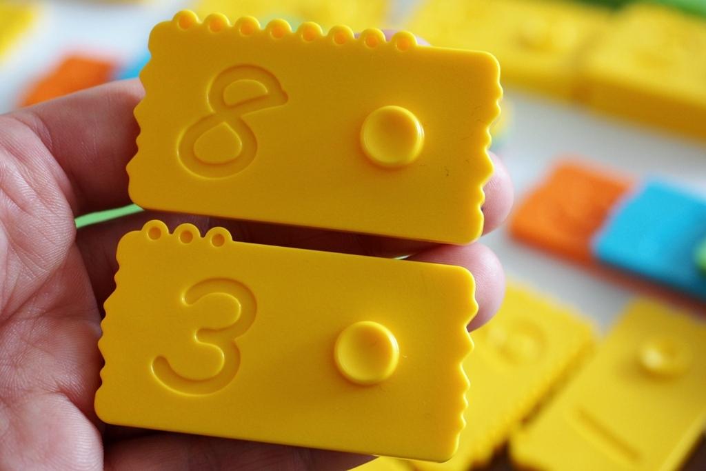newmero klocki matematyczne edukacyjne nemwero plastikowe dla dzieci nauka liczenia zabawy pomoce