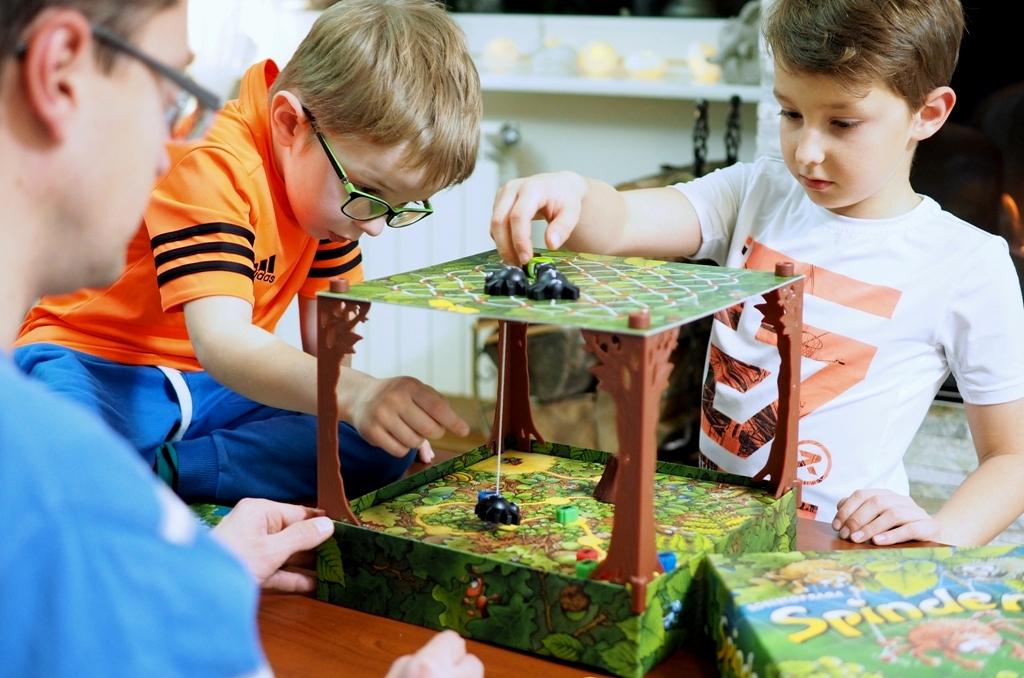 gry planszowe rodzinne spinderella gra dla dzieci moje dzieci kreatywnie