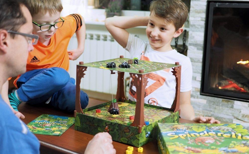 gra spinderella gry dla dzieci