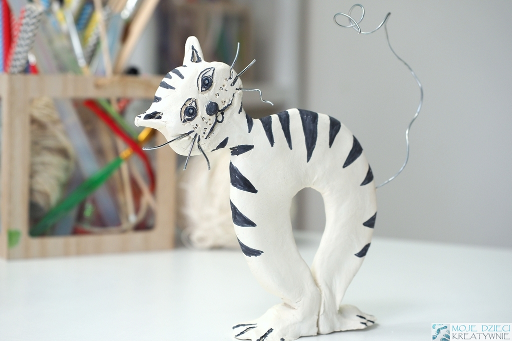 dzien kota pomysly na prace plastyczne