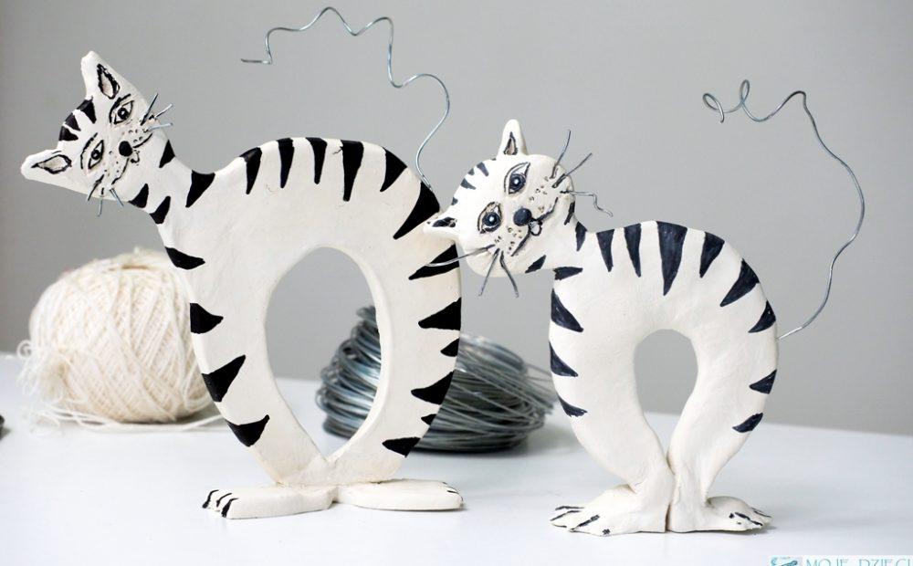 kot praca plastyczna