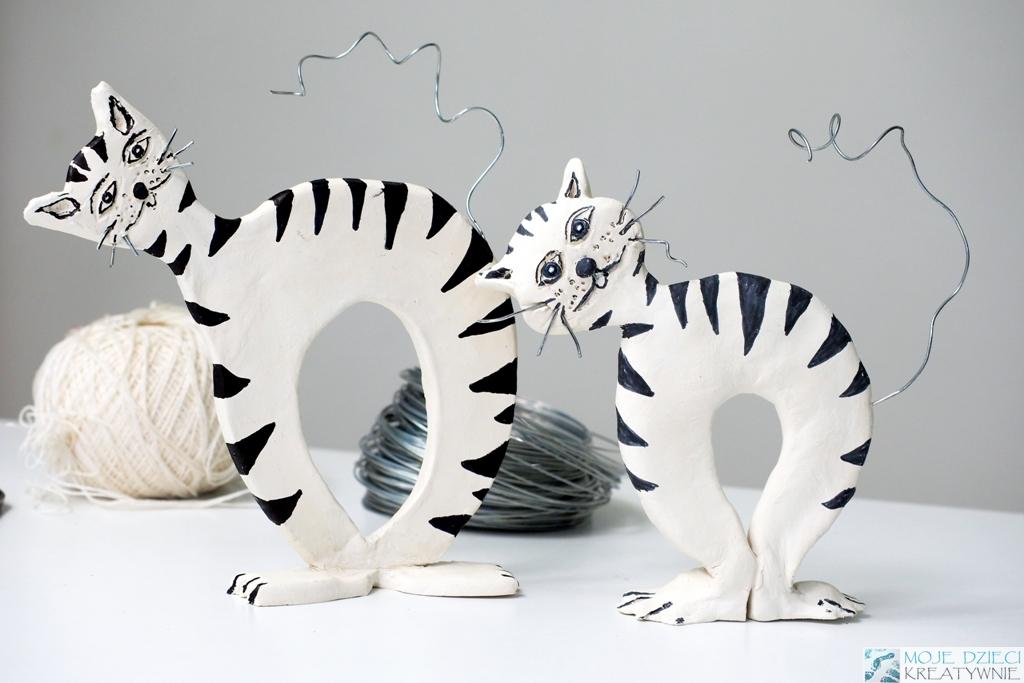 kot praca plastyczna prezent na dzien mamy diy