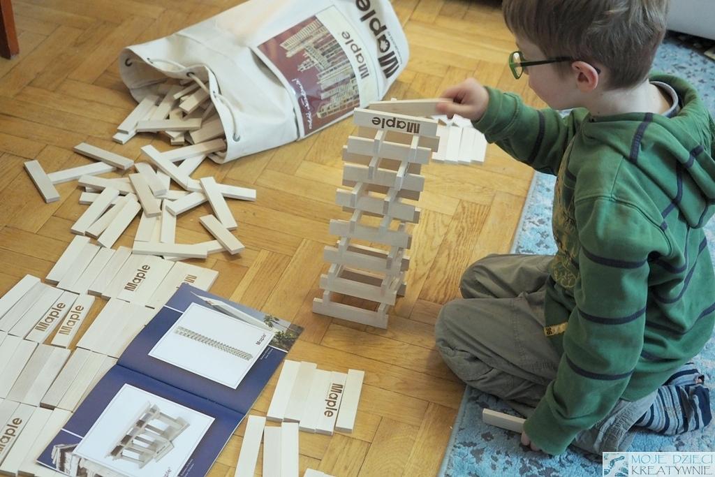 klocki dla dzieci drewniane