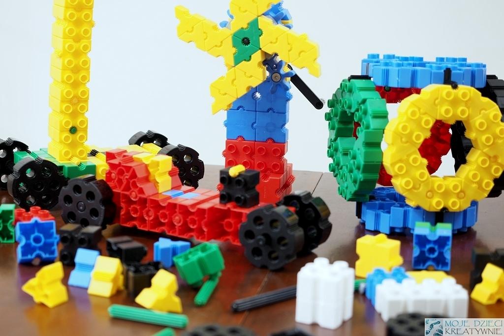 klocki dla dzieci morphun konstrukcyjne plastikowe