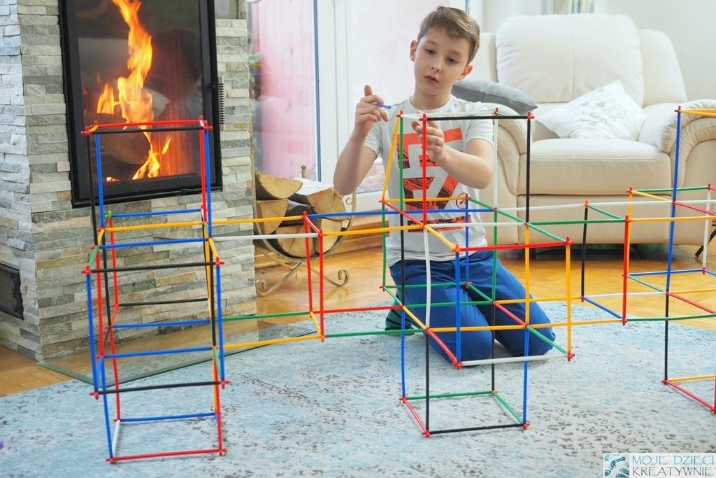 klocki konstrukcyjne plastikowe bamp dla dzieci