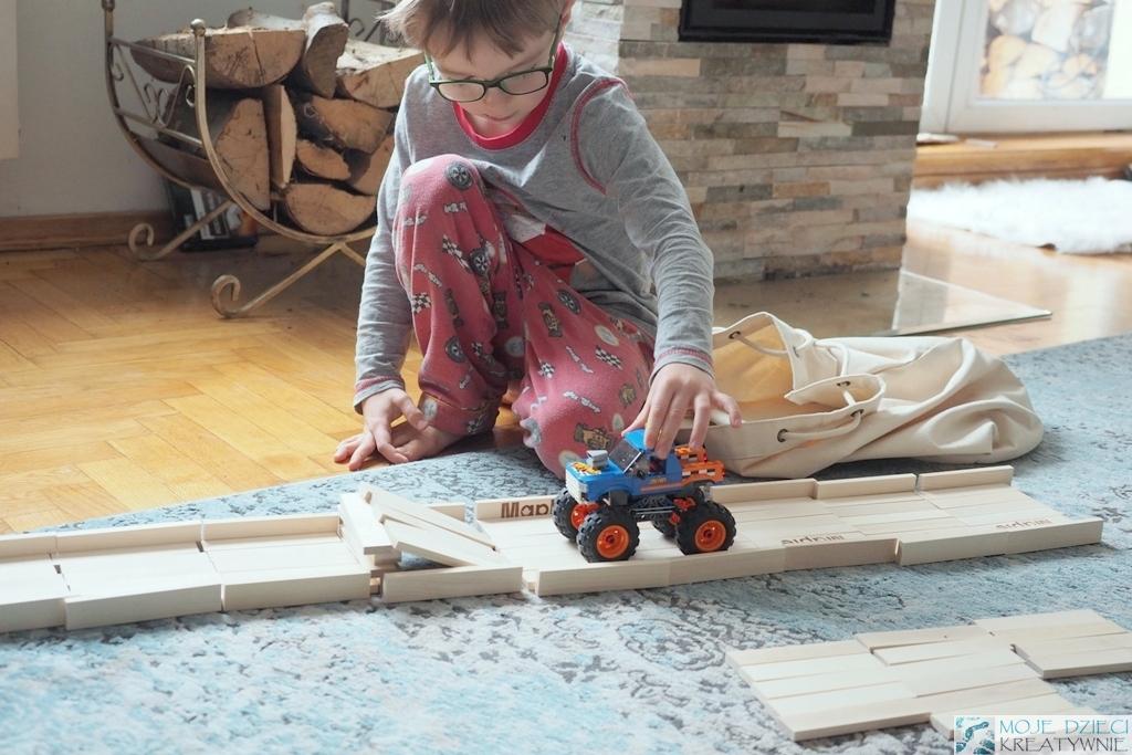 klocki konstrukcyjne drewniane