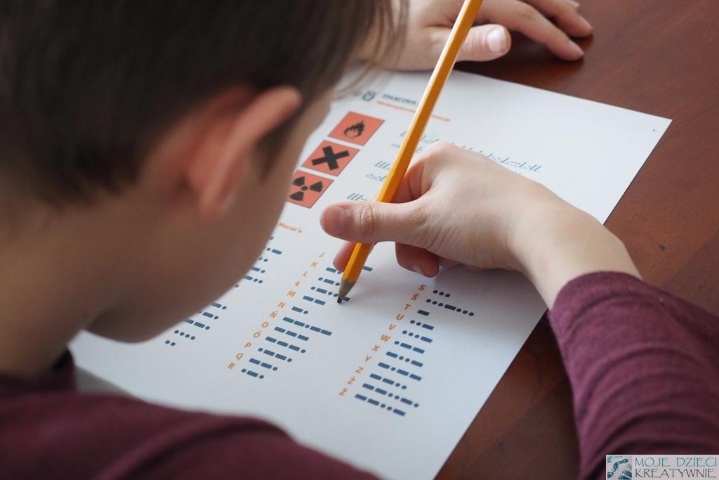 alfabet morse'a morsa moje dzieci kretywnie nauka przez zabawę
