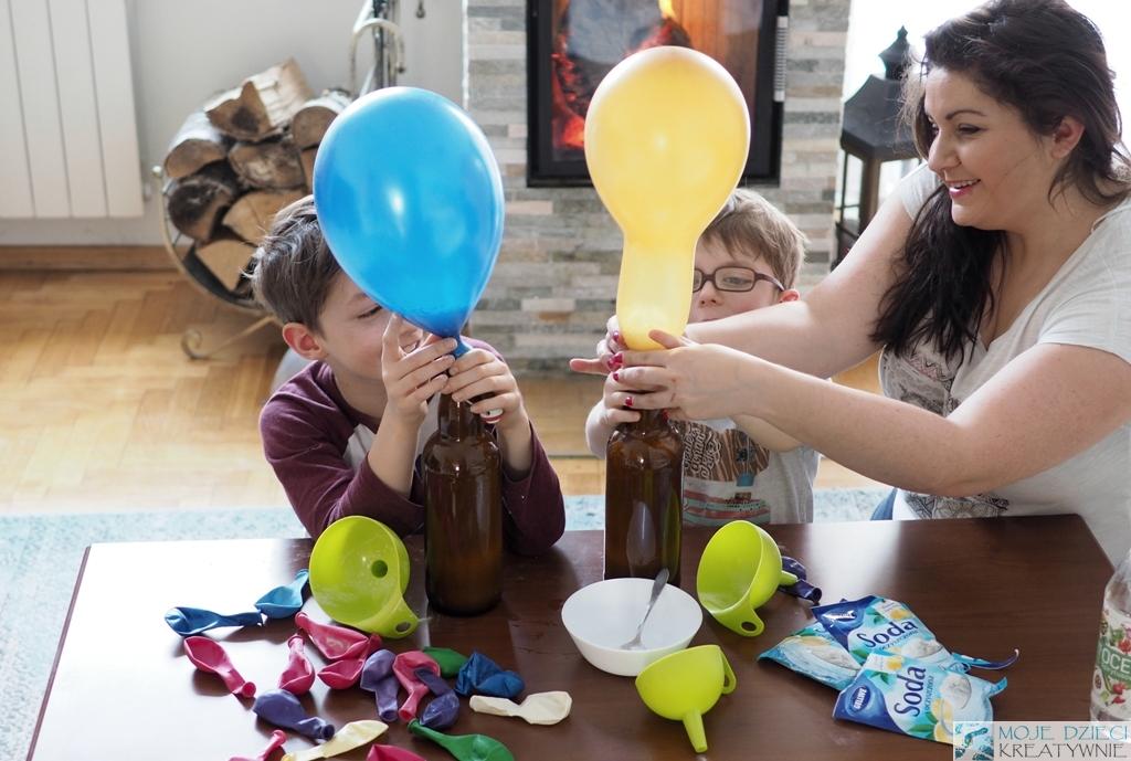 eksperymenty zabawy z balonami
