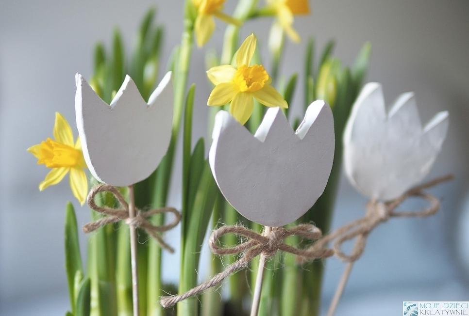 wiosenne dekoracje diy prezent na dzien mamy pomysly