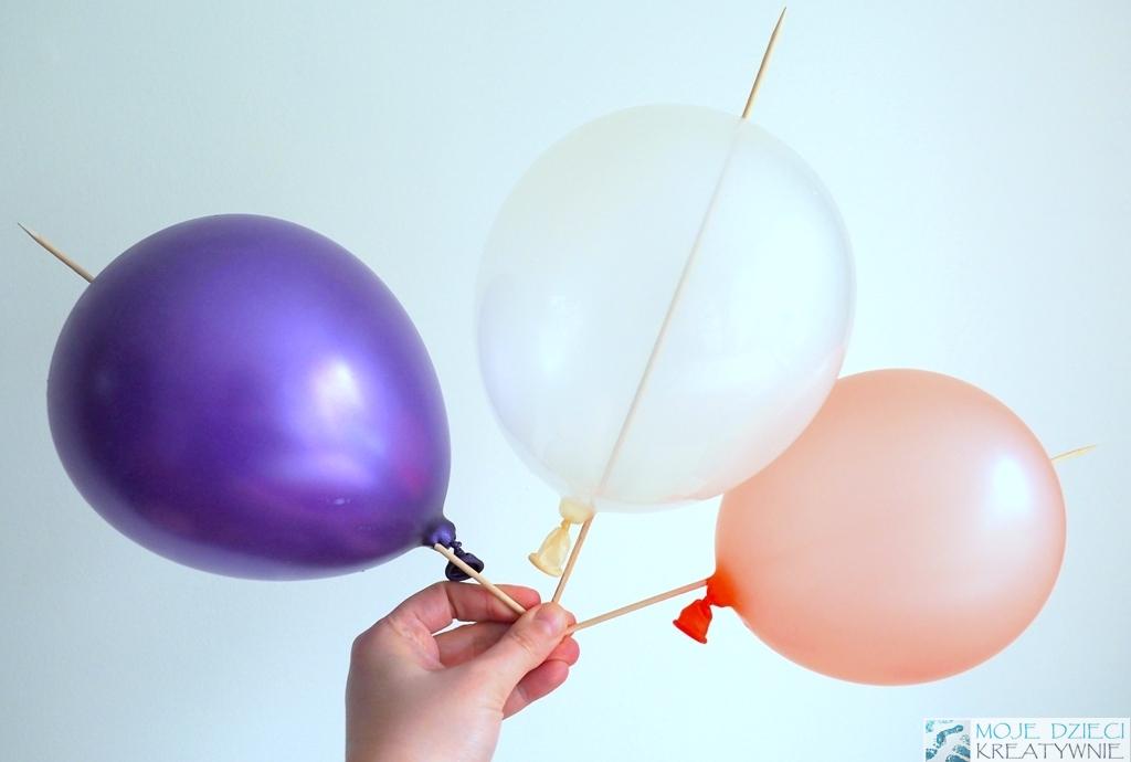 eksperymenty zabawy z balonami dla dzieci