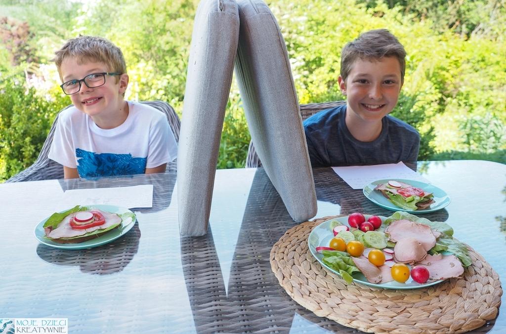 zabaw w kodownie, robimy kanapki w ogrodzie, kodownie offline, jak można uczyć dzieci kodowania bez komputera.