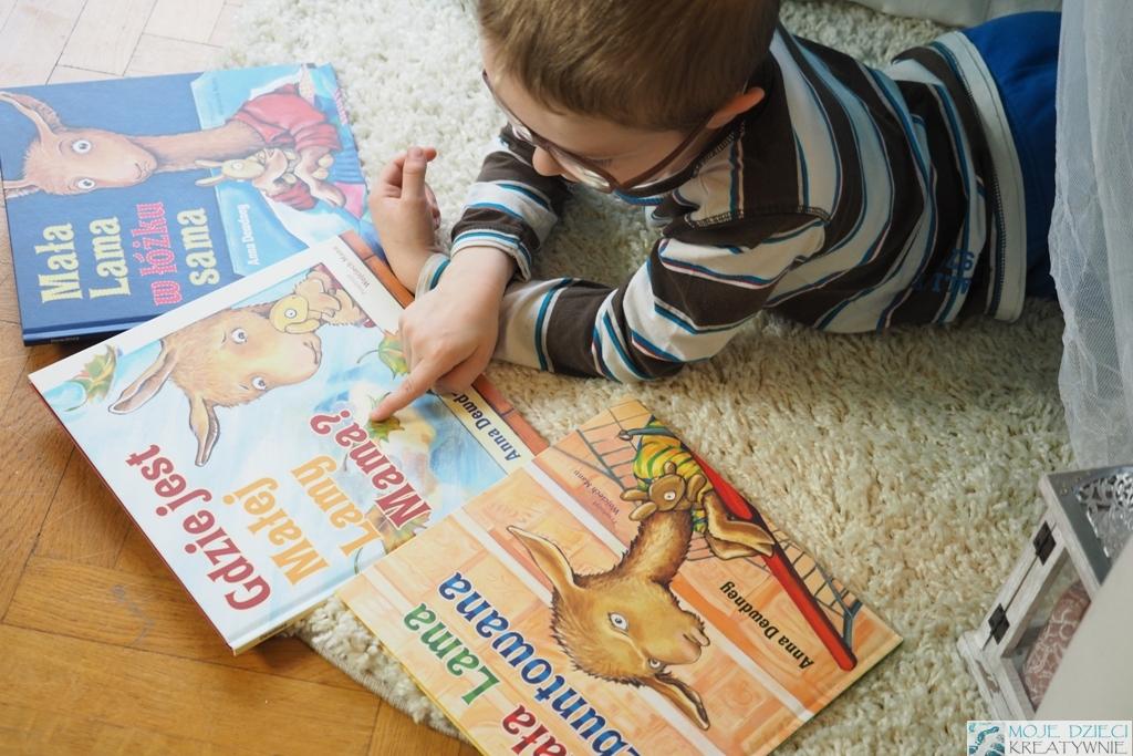 mala lama ksiazki dla dzieci opinie rencenzje dalej lama blogi parentingowe