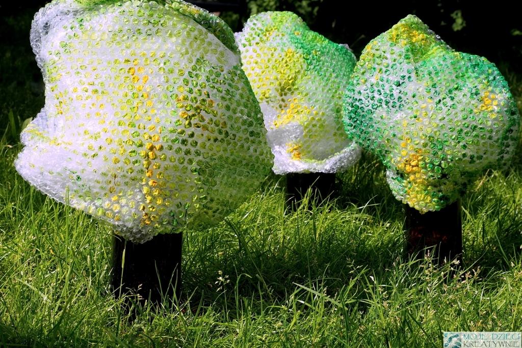drzewa praca plastyczna pomysly dla dzieci