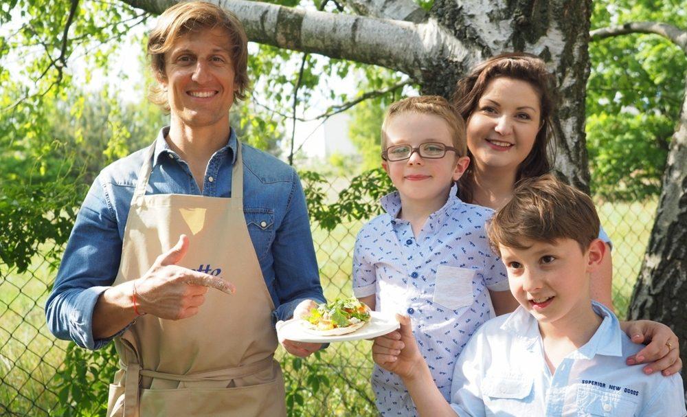 blogerka ewa wojtan blog parentingowy moje dzieci kreatywnie i david gaboriaud dla almette pzepisy na dania dla dzieci