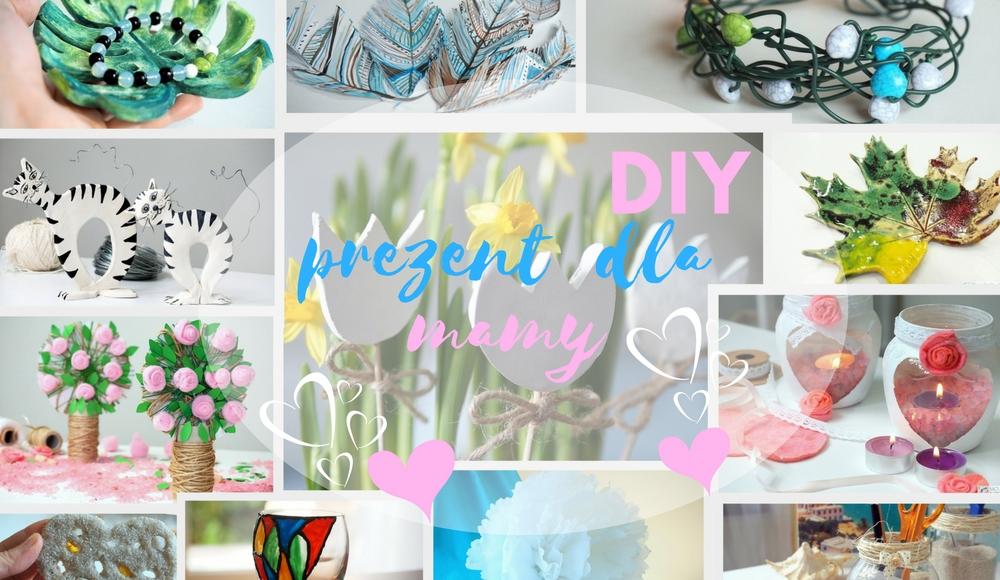 pomysl na prezent dla mamy co zrobic na dzien mamy DIY