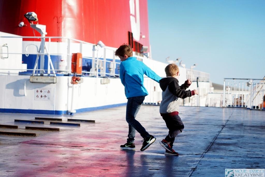 Rodzinne Niedziele ze Stena Line warsztaty dla dzieci na statku