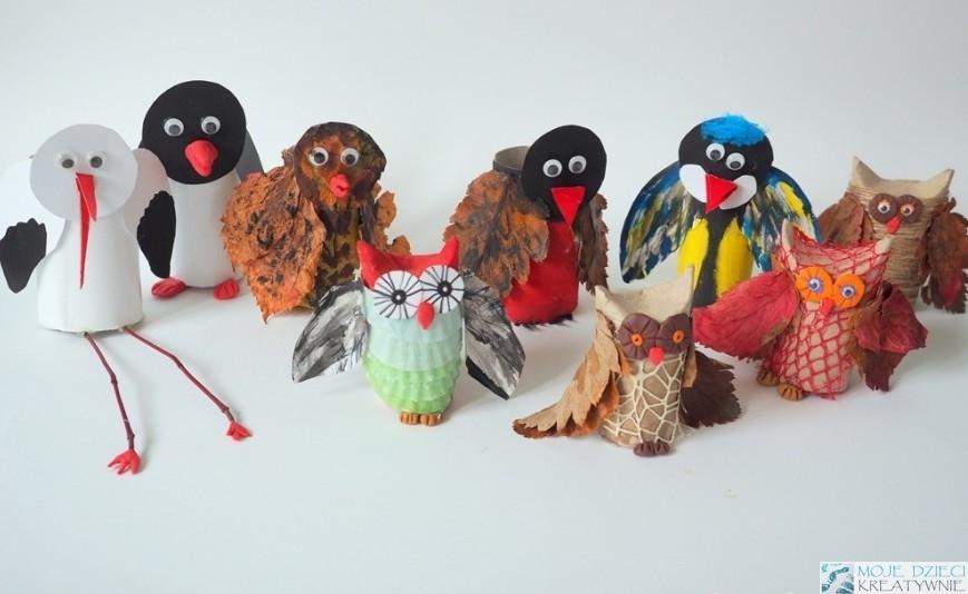 что можно делать с рулонами туалетной бумаги, интересные идеи для птиц и украшения