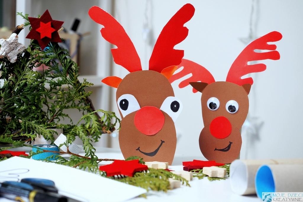 художественные работы из рулонов на Рождество и Рождество