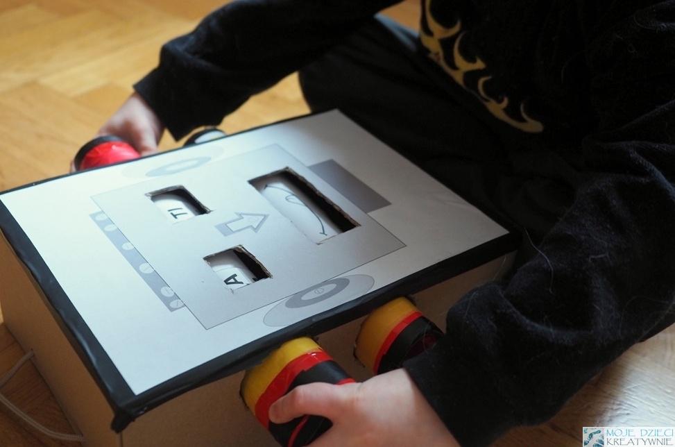 мои дети творческий робот-переработчик и бумажные рулоны