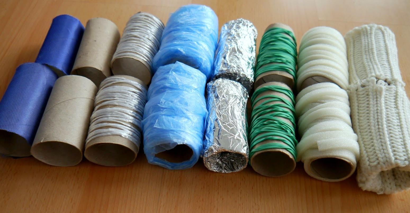 как можно использовать рулоны туалетной бумаги интересное развлечение для детей из рулонов