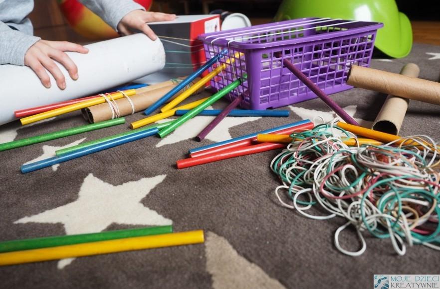 инструменты и игрушки из утилизации и ролики