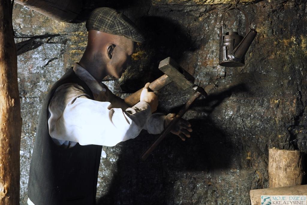 praca gornika kopalnia wegla guido