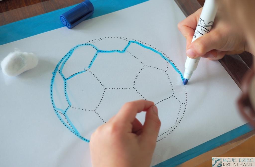 pilka kontury do rysowania moje dzieci kreatywnie