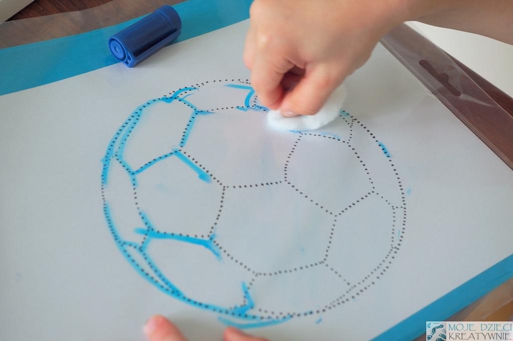 pilka nozna kolorowanka do druku moje dzieci kreatywnie