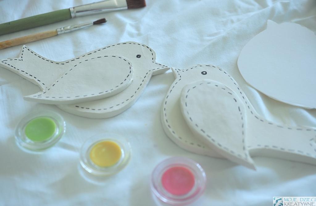 ptaki szablon do druki praca plastyczna sikorka gil