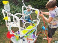 wodny stolik diy fontanna dla dzieci