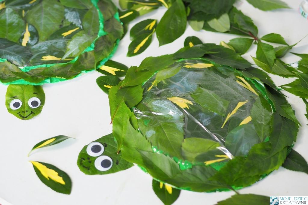 zolw praca plastyczna dla dzieci