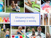 eksperymenty kreatywne zabawy z woda