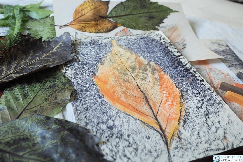 ciekawe prace plastyczne jesien