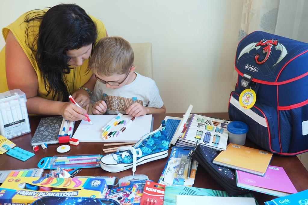 wyprawka szkolna pierwszoklasisty moje dzieci kreatywnie
