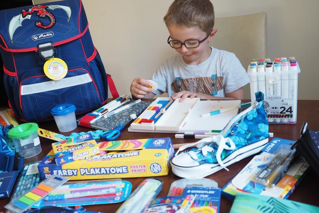 Wyprawka szkolna dla ucznia moje dzieci kreatywnie blog parentingowy