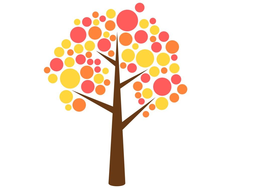 szablon drzewa do druku