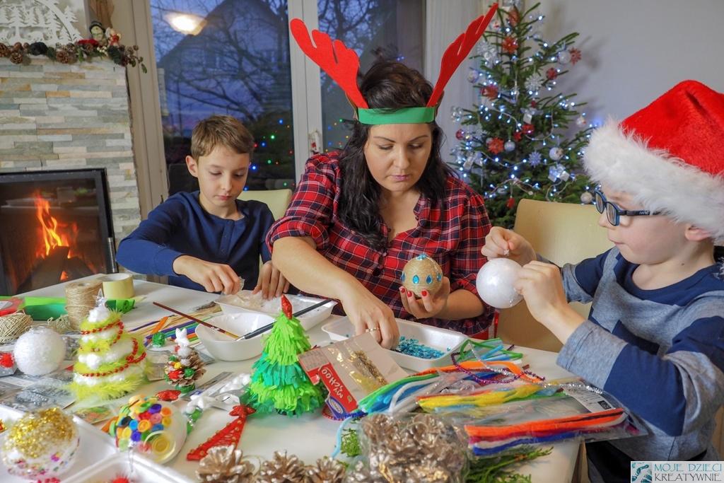 dekoracje i ozdoby choinkowe dla dzieci
