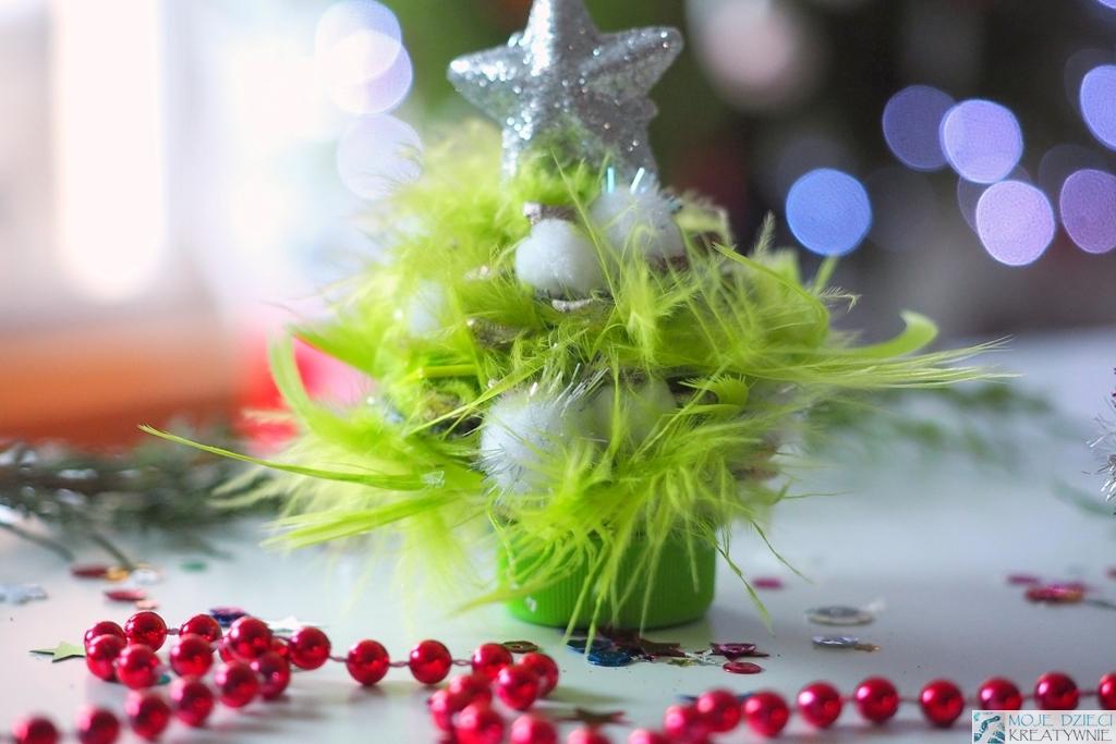 ozdoby bożonarodzeniowe, pomysły na dekoracje diy dla dzieci, ozdoby na choinkę