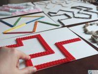 labirynt sensoryczny, labirynt dodtykowy, kreatywne zabawy