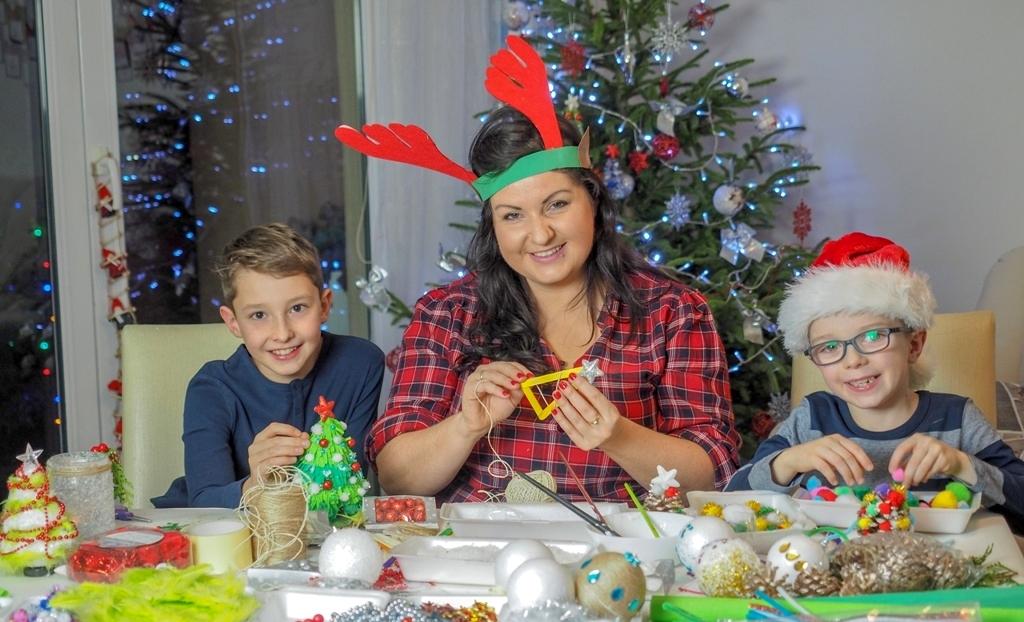 moje dzieci kreatywnie, blog parentingowy, ewa wojtan, ozdoby choinkowe, dekoracje bożonarodzeniowe