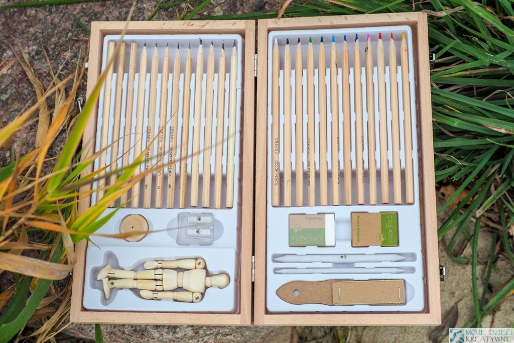 pomysły na prezenty, zestawy artystyczne, zestawy kredek, zestawy plastyczne, zestaw ołówków.